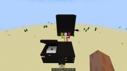Playstation 2 + tv Minecraft