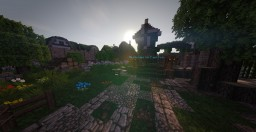 Caerfon Tydoria Medieval City Minecraft Project
