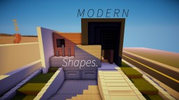 Modern House Recreated In Minecraft!