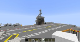 USS Enterprise CVN-80 Minecraft Map & Project