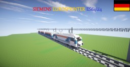 Siemens Eurosprinter ES64U4 Minecraft Map & Project