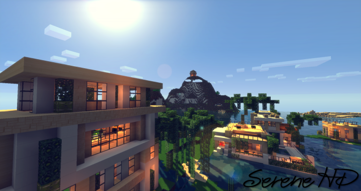 2016 06 28 02534510288456 [1.10] Serene HD Realistic Texture Pack Download