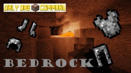 Bedrock+ - Only One Command Minecraft Map & Project