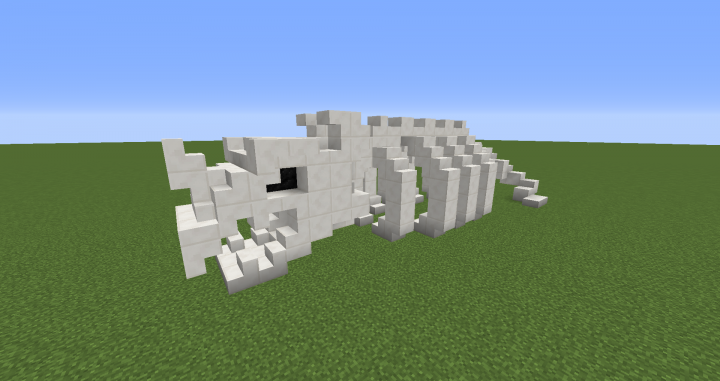 Dragon Skeleton Minecraft Project