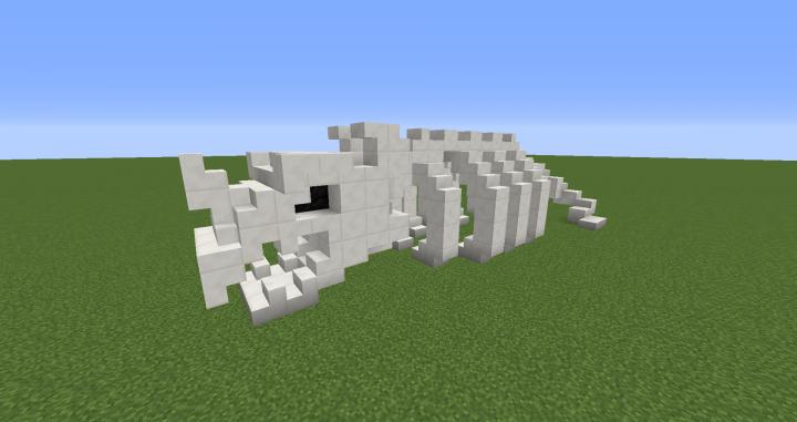 Dragon Skeleton Minecraft Project