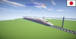 Shinkansen E4 Minecraft Map & Project