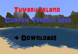 Tumaru Island [2kx2k Custom Survival Terrain] Minecraft Map & Project