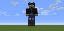 DanTDM Statue! Minecraft Map & Project