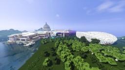 Huge Modern mansion! Minecraft Map & Project