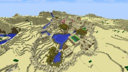 WIP Large desert village Minecraft