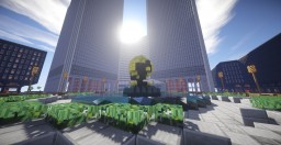 World Trade Center + Lower Manhattan Scale 1:1! Minecraft