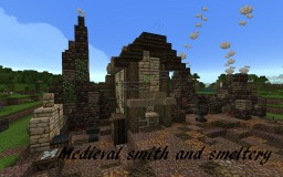 Medieval smith and smeltery