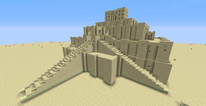 Ziggurat of Ur, Iraq, to 2112 before J.C.