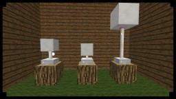 ● Minecraft: How To Make WORKING Lamps Minecraft Blog