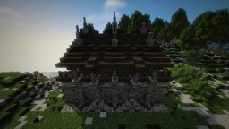Medieval Nordic Village City Wall - Server Creations Minecraft