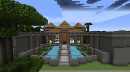 Jurassic Park Isla Nublar! Modded Minecraft Map & Project