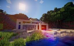 Modern Beach House - Maximum Security Minecraft Project