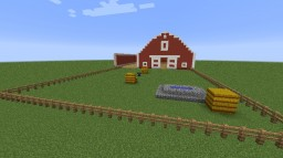 Modern Barn Minecraft Map & Project