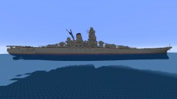 IJN Yamato Minecraft Project