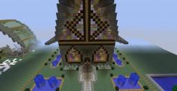 illuminated church Minecraft