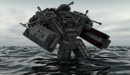 German Jaeger Gigant Minecraft Project