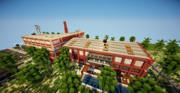 renovated old factory into modern loft  ~-~by asunoir ~-~ Minecraft Map & Project