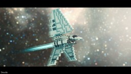 Lambda-Class T-4a Shuttle STAR WARS Minecraft Project