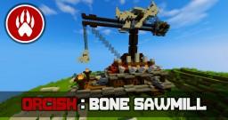 Orcish Bone Sawmill Tutorial Minecraft Map & Project