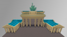 Brandenburger Tor Minecraft Project