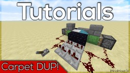 HOW!  DUPLICATE CARPET (WORKS IN SKYBLOCK!) -1.10 Minecraft Blog