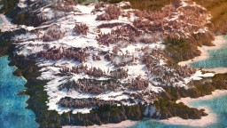 ⭐Desiria's lands⭐ - 【Environmental Terrain Map】 1# HebaraMC Minecraft