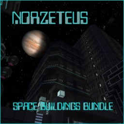 Norzeteus Space-Buildings-Bundle Minecraft Map & Project