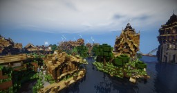 Farming village in the vicinity of Riverton Minecraft Map & Project