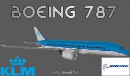 Boeing 787 Dreamliner [KLM] Minecraft Map & Project