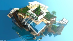 In The Middle Of The Sea [Modern house concept #2] Minecraft Map & Project