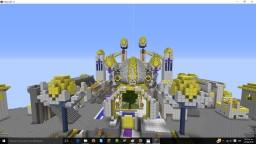 minecraft story mode sky city recreation Minecraft Map & Project