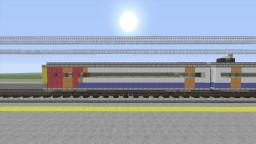 East Midlands class 158 super sprinter train Minecraft Map & Project