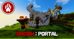 Orcish Portal Tutorial Minecraft Map & Project