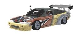 Nissan 240sx Minecraft Project