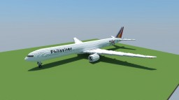 Boeing 777-300ER Philippine Airlines [+Download] [Updated] Minecraft