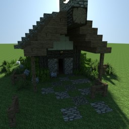 Small Medieval House Minecraft