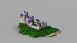 Suro. The lonely castle. [Castle-project] Minecraft Map & Project