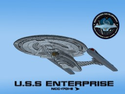 U.S.S Enterprise (NCC-1701-E) Minecraft Map & Project