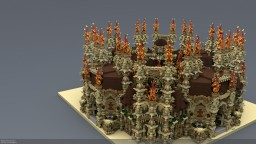 Spawn and plot 150 Minecraft Project
