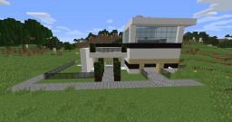 Modern Redstone House Mainly pistons {NOT COMPLETE}