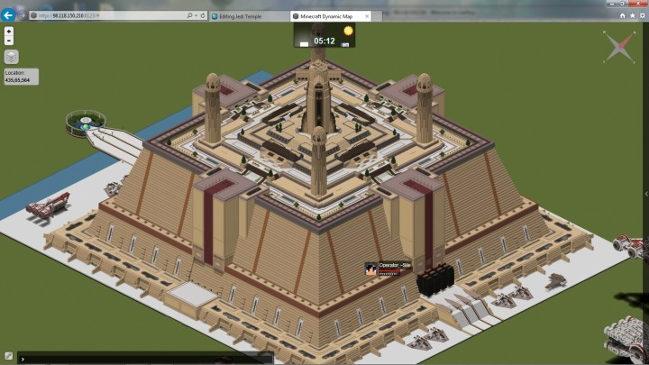 Temple on my server