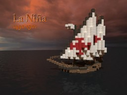 The Niña Ship Minecraft Map & Project