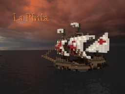 The Pinta Ship Minecraft Map & Project