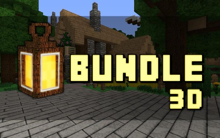 1 11 Bundle X32 3d Minecraft Texture Pack