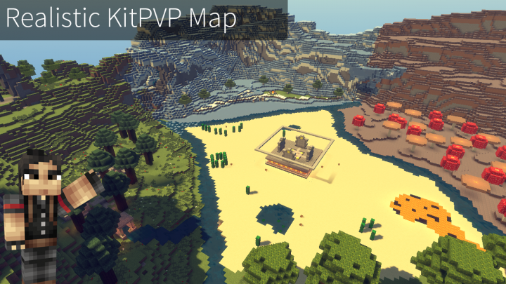 realistic kitpvp map minecraft project
